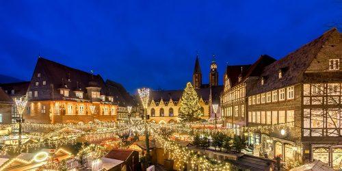 Julemarked i Goslar, en af de 9 byer. Foto: Marketing GmbH/ Kotyrba
