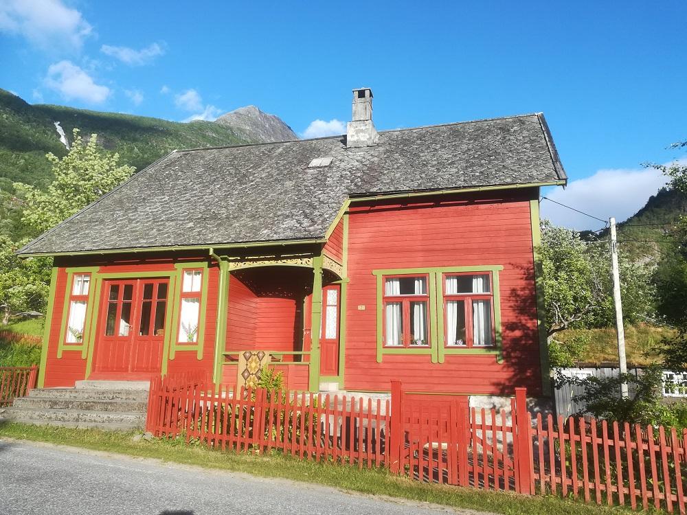Hus i Lom, Norge