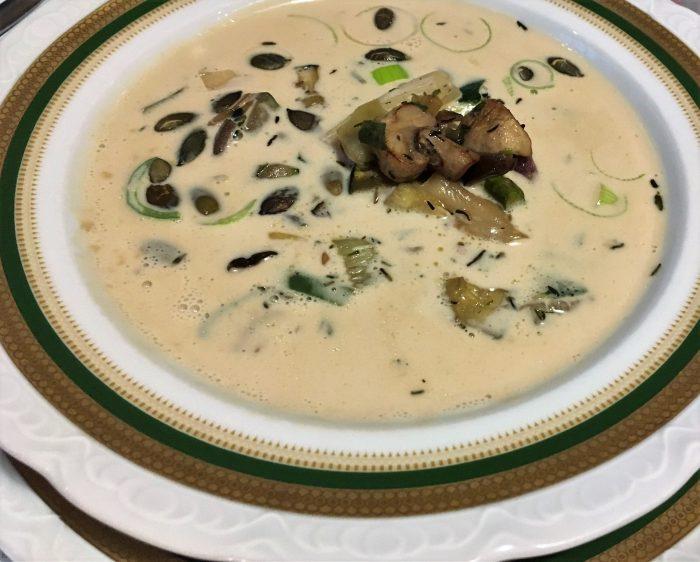 suppe fra la saal