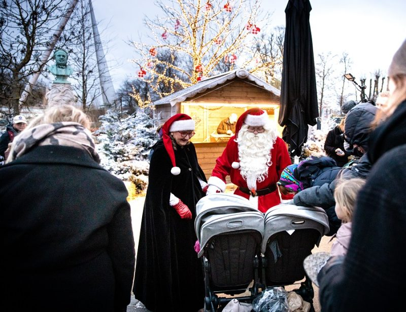 Julemand i Zoo