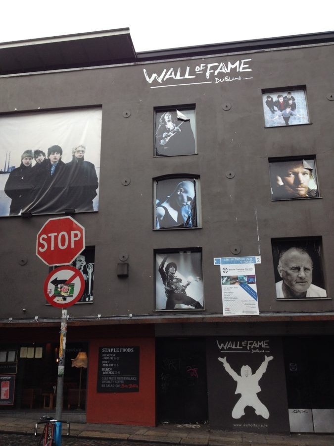 Wall of Fame i Dublin/Tradfest 2020